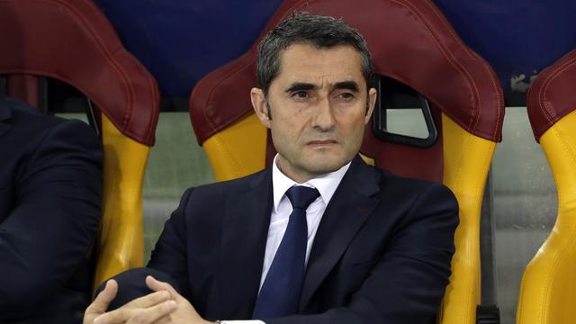 Ernesto Valverde pelatih Barcelona