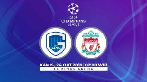 KRC Genk vs Liverpool